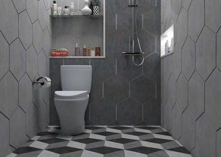 Inilah Desain Toilet Duduk Dan Jongkok Minimalis