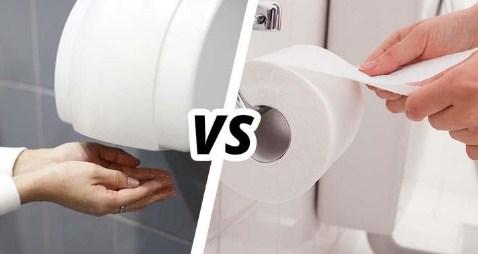 Manakah yang Lebih Baik antara Tisu dan Hand Dryer Untuk Sanitasi Toilet.?